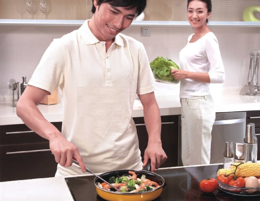 hình ảnh bếp từ có hại cho sức khỏe không?
