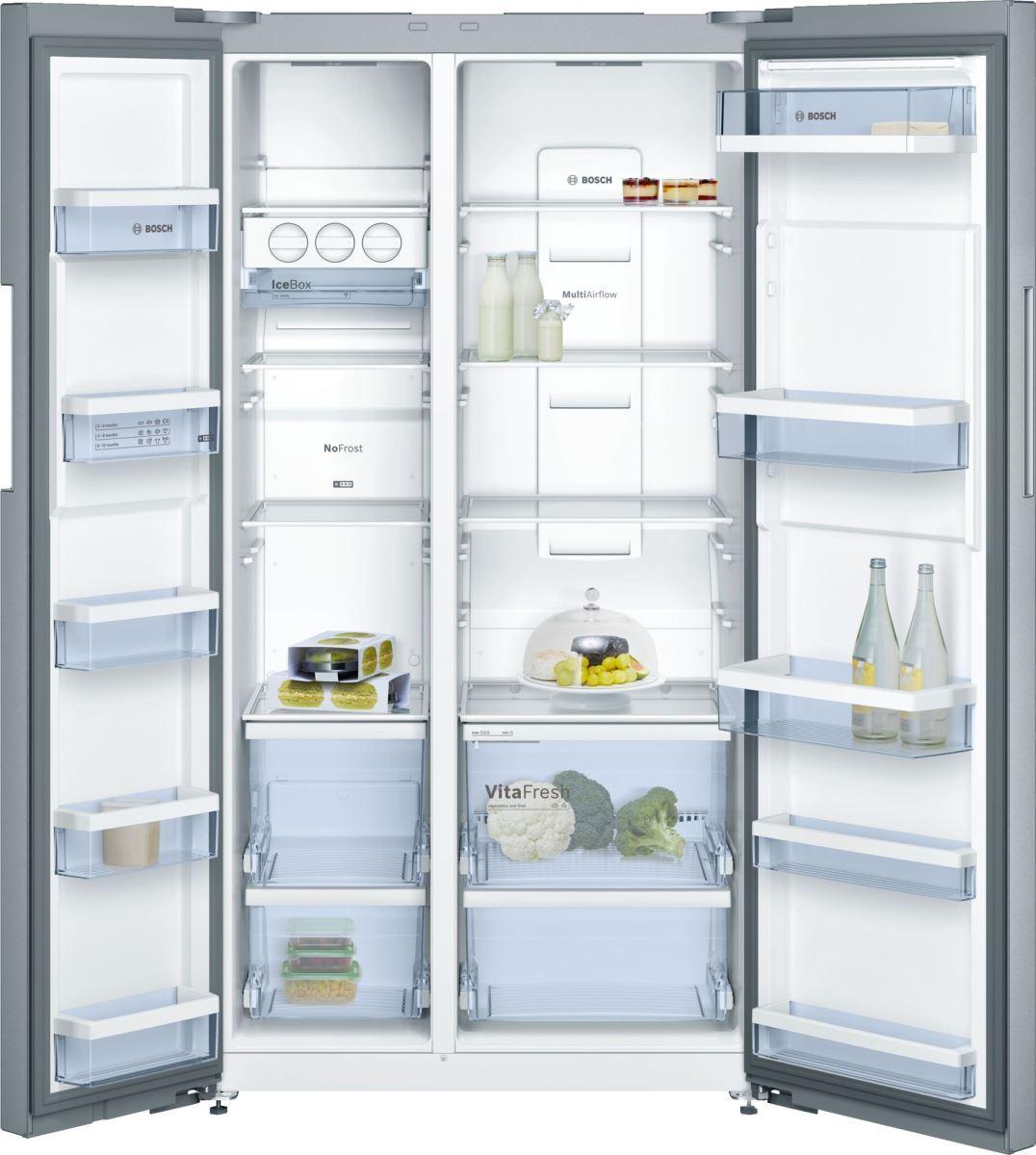 Tủ Lạnh Bosch KAN92VI35O thiết kế inox 2 cánh sang trọng-1
