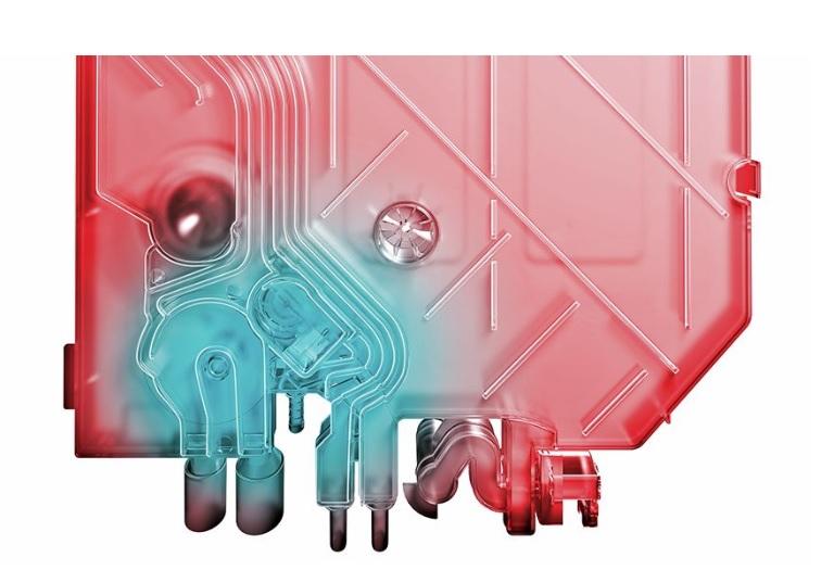 máy rửa bát Bosch SMS25KI00E Heat Exchanger:
