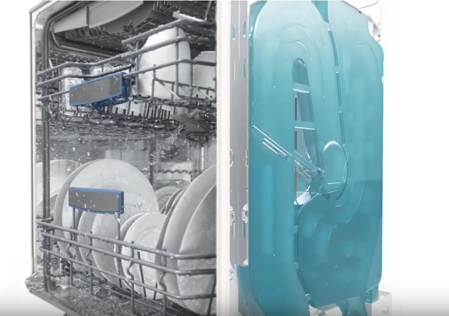 máy rửa bát SMS25KI00E công nghệ AquaSensor